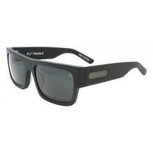 Black Flys Fly Menace Sunglasses - Matte Black - Smoke Polar