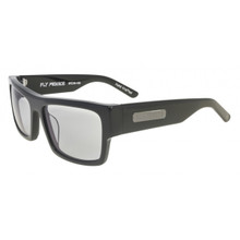 Black Flys Fly Menace Sunglasses - Shiny Black - Smoke Transition Lens