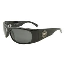 Black Flys Fly Ballistics Sunglasses - Shiny Black - Smoke Z87 - ANSI