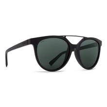 Von Zipper Hitsville Sunglasses - Black Satin - Wildlife Vint Grey Polar - HIT-PSV