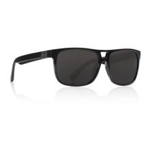 Dragon Roadblock Sunglasses - Shiny Black - Smoke Polarized
