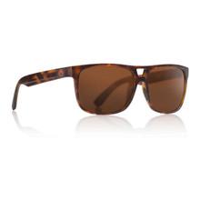 Dragon Roadblock Sunglasses - Matte Tortoise - Brown Polarized