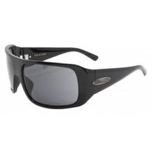 Black Flys Fly 4 Life Sunglasses - Shiny Black with Smoke Polarized