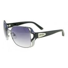 Flygirls Fly Toast Sunglasses - S. Silver Black - Smoke Gradient
