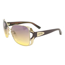 Flygirls Fly Toast Sunglasses - S. Gold Purple - Purple to Yellow