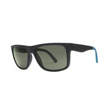 Electric Swingarm Float Sunglasses - M Blk/ Blu - OHM Polarized Grey - 129-63742