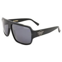 Black Flys Flycoholic Sunglasses - Matte Black - Smoke Lenses