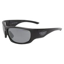 Black Flys Fly Defense Sun/Safety Glasses - Matte Black - Smoke Z87