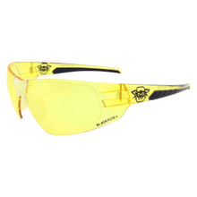 Black Flys Sparxx Fly Too Safety Glasses - Yellow Z87