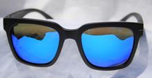 Hoven Merit Sunglasses - Matte Back - Tahoe Blue Polarized
