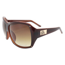 Flygirls On The Fly Sunglasses - Brown - Brown Gradient