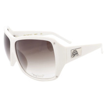 Flygirls On The Fly Sunglasses - White - Grey Gradient