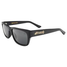 Black Flys FAB 28 McFly LTD Sunglasses - Matte Black - Smoke