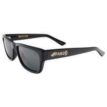Black Flys FAB 28 McFly LTD Sunglasses - Shiny Black - Smoke