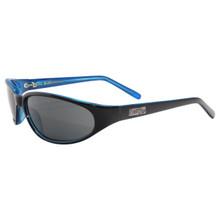 Black Flys Micro Fly - Shiny Black - Blue - Smoke Polarized