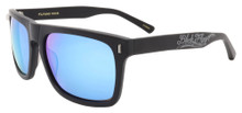 Black Flys Flyami Vice sunglasses - matte black/ blue mirror