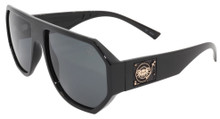 Black Flys Mix Master Fly (Mike LTD) Sunglasses - Shiny Blk - Smoke Polar