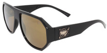 Black Flys Mix Master Fly (Mike LTD) Sunglasses - Shiny Blk - Gol Mirror