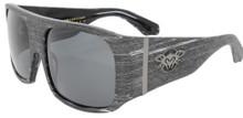 Black Flys Fly Ambassador Sunglasses - Rodman Model - Grey Wood - Polar