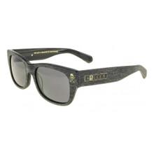 Black Flys Sullen 2 Sunglasses - Grey Wood - Smoke Polarized