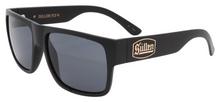 Black Flys Sullen 4 Sunglasses - Matte Black - Smoke Lenses