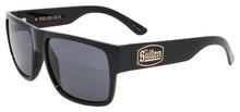 Black Flys Sullen 4 Sunglasses - Shiny Black - Smoke Lenses