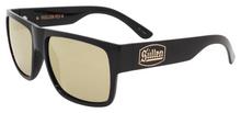 Black Flys Sullen 4 Sunglasses - Shiny Black - Gold Flash