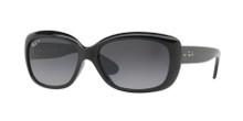 Ray Ban Jackie Ohh sunglasses - Black - Grey Grad Polar