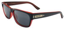 Black Flys McFly sunglasses - Matte Black - C Red w/Smoke