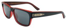 Black Flys McFly sunglasses - Matte Black - C Red w/Smoke Polar