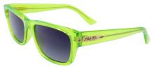 Black Flys McFly Sunglasses - Neon Green - Smoke
