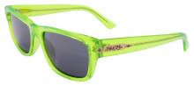 Black Flys McFly Sunglasses - Neon Green - Smoke Polar