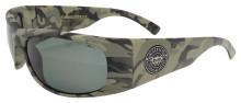 Black Flys Fly Ballistics 2 Sunglasses - Nam Camo - Z87 Smoke Polarized