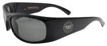 Black Flys Fly Ballistics 2 Sunglasses - Shiny Black - Z87 Smoke Polarized