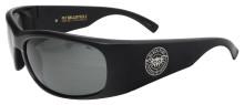 Black Flys Fly Ballistics 2 Sunglasses - Matte Black - Z87 Smoke Polarized