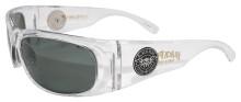 Black Flys Fly Ballistics 2 Sunglasses - Clear - Z87 Smoke Polarized