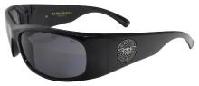 Black Flys Fly Ballistics 2 Sunglasses - Shiny Black - Z87 Smoke
