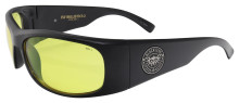 Black Flys Fly Ballistics 2 Safety Glasses - Matte Black - Z87 Yellow