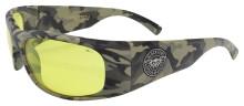 Black Flys Fly Ballistics 2 Safety Glasses - Nam Camo - Z87 Yellow