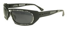 Black Flys Hi Fly Sunglasses - Black Grey Marble - Smoke Polarized