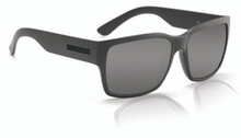 Hoven Mosteez Sunglasses - Black on Black Matte - Grey lenses