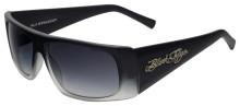 Black Flys Fly Straight sunglasses - matte black gradient w/grad lenses