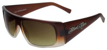 Black Flys Fly Straight sunglasses - matte caramel gradient