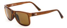 Otis Casa Bay Sunglasses - Woodland Matte - Brown Glass Polar