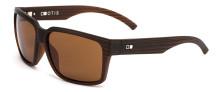 Otis The Double Sunglasses - Woodland Matte - Brown Glass Polar