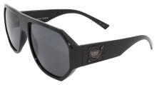 Black Flys Mix Master Fly Sunglasses - Shiny Black - Smoke Polar