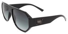 Black Flys Mix Master Fly Sunglasses - Shiny Black - Smoke Gradient