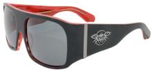 Black Flys Fly Ambassador Sunglasses - Rodman Model - Mt Blk/Red - Polar