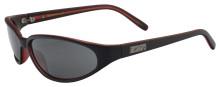 Black Flys Micro Fly sunglasses - matte black-red/grey