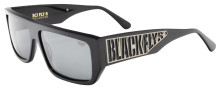 Black Flys Sci Fly 8 Sunglasses - Shiny Black - Smoke Polarized